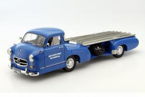 Mercedes-Benz Renntransporter Das Blaue Wunder 1955 1:18