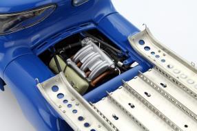 model car Mercedes-Benz Renntransporter Das Blaue Wunder 1955 1:18