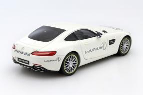 model car Laureus Mercedes-AMG GT S scale 1:18