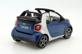 model car Smart fortwo 2015 scale 1:18