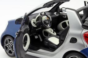 Modellauto neuer Smart fortwo 2015 1:18