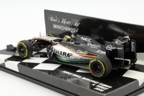 model car Formula one Sergio Pérez scale 1:43
