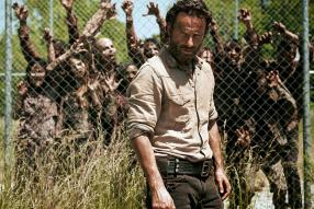 """Andrew Lincoln as Rick Grimes in """"The Walking Dead"""""""