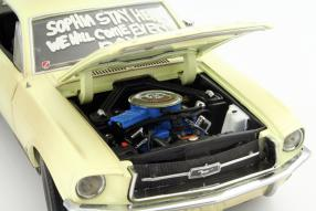 Model car Ford Mustang I The Walking Dead scale 1:18