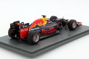 Model car Red Bull RB12 formula 1 2016 scale 1:43