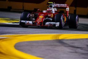 Kimi Räikkönen in Singapur 2016
