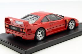 model car Ferrari F40 scale 1:18