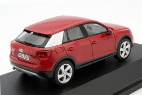 model car Audi Q2 scale 1:43