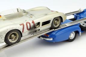 Mercedes-Benz Renntransporter 1955 Das Blaue Wunder 1:18