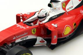 model car Ferrari SF16-H Formel 1 Vettel 2016 1:18 Bburago