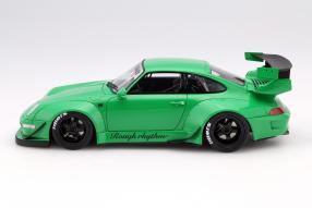 Modellauto RWB Porsche 911 Rough Rhythm 1:18