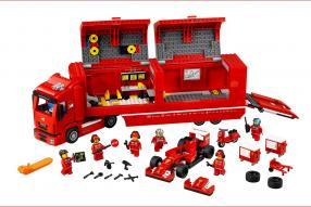 model car Ferrari Race Truck Lego