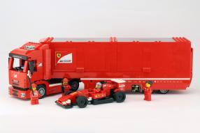 Lego Renntransporter Ferrari
