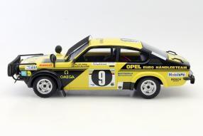 model cars Opel Kadett Rallye 1976 1:18