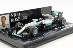model car Nico Rosberg #MercedesAMG Petronas F1 2016