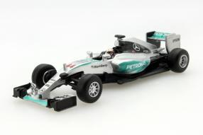 #model car Lewis Hamilton F1 W06 scale 1:64