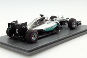 #MercedesAMGF1 W07 Lewis Hamilton