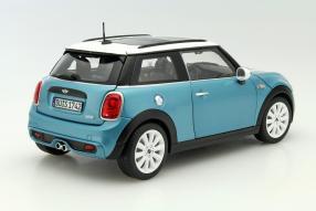 Model cars Mini Cooper S scale 1:18