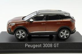 Modellauto Peugeot 3008 Maßstab 1:43