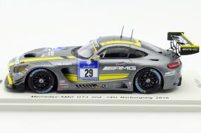 modelcars Mercedes-AMG GT3 scale 1:43