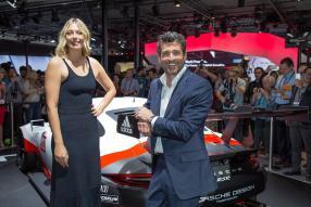 Maria Sharapova und Patrick Dempsey Porsche AG LA Auto Show 2016