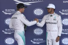 Nico #Rosberg und Lewis #Hamilton / Foto: Daimler AG
