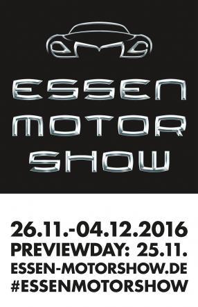 Logo Essen Motor Show 2016 / Foto: Messe Essen GmbH