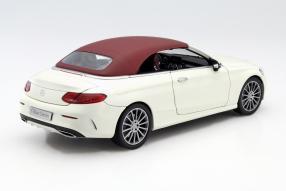 Model #MercedesBenz C-Class Cabriolet A 205 1:18