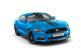 Ford Mustang Blue Edition Grabber Blue