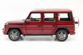 model car Mercedes-Benz G-Class iScale scale 1:18 #GClass