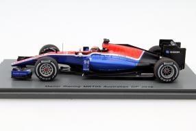model cars Manor MRT05 Pascal Wehrlein 1:43
