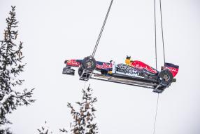 Max Verstappen Red Bull Snow Run