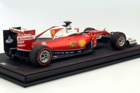 model Cars Ferrari Formel 1 Vettel 2016 scale 1:18