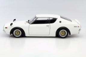 Modellauto Nissan Skyline GT-R 1973 1:18