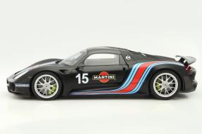 Modellautos Porsche 918 Rekord 2013 Maßstab 1:12