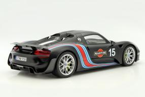 model cars Porsche 918 record run 2013 1:12