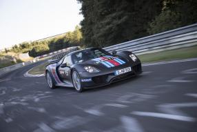 Porsche 918 Nürburgring 2013