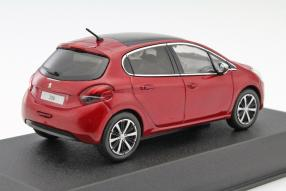 Model cars 2015 Peugeot 208 scale 1:43