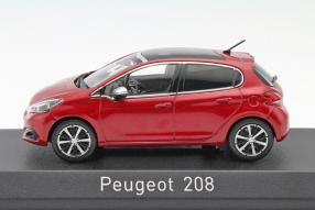 Modellautos Peugeot 208 2015 Maßstab 1:43