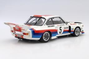 model cars BMW 3.5 CSL 1977 scale 1:18