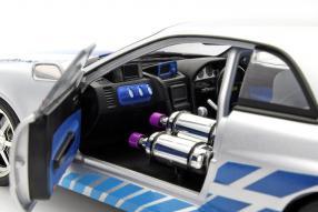 modelcars Brians Nissan Skyline GT-R 1:18 2003 #FastFurious
