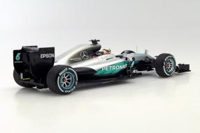 model cars Mercedes-AMG Petronas F1 W07 Hamilton 2016 1:18