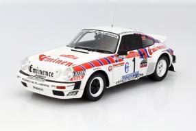 Modellauto Porsche 911 San Remo Röhrl 1981 1:18