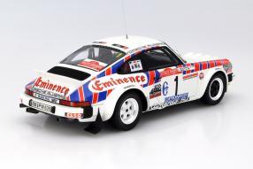 Modell Porsche 911 San Remo Röhrl 1981 1:18