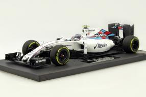 Williams FW38 Valtteri Bottas F1 2016 1:18