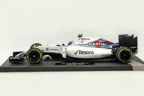 Modelcars Williams FW38 Valtteri Bottas F1 2016 1:18