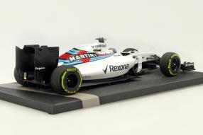 Modellautos #Williams FW38 Valtteri Bottas F1 2016 1:18