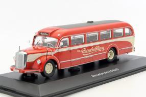 Modellautos Mercedes-Bus Schuco O 6600 1:43