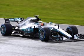 Mercedes-AMG Petronas F1 W08 #F1 2017