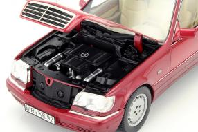 Modellautos Mercedes-Benz S 500 W 140 1:18